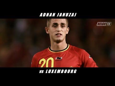 Adnan Januzaj vs Luxembourg (Int'l Friendly & Belgium Debut) 13/14 + Post-Match Interview