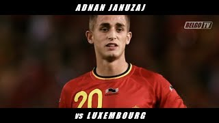 Adnan Januzaj vs Luxembourg (Int'l Friendly & Belgium Debut) 13/14 + Post-Match Interview