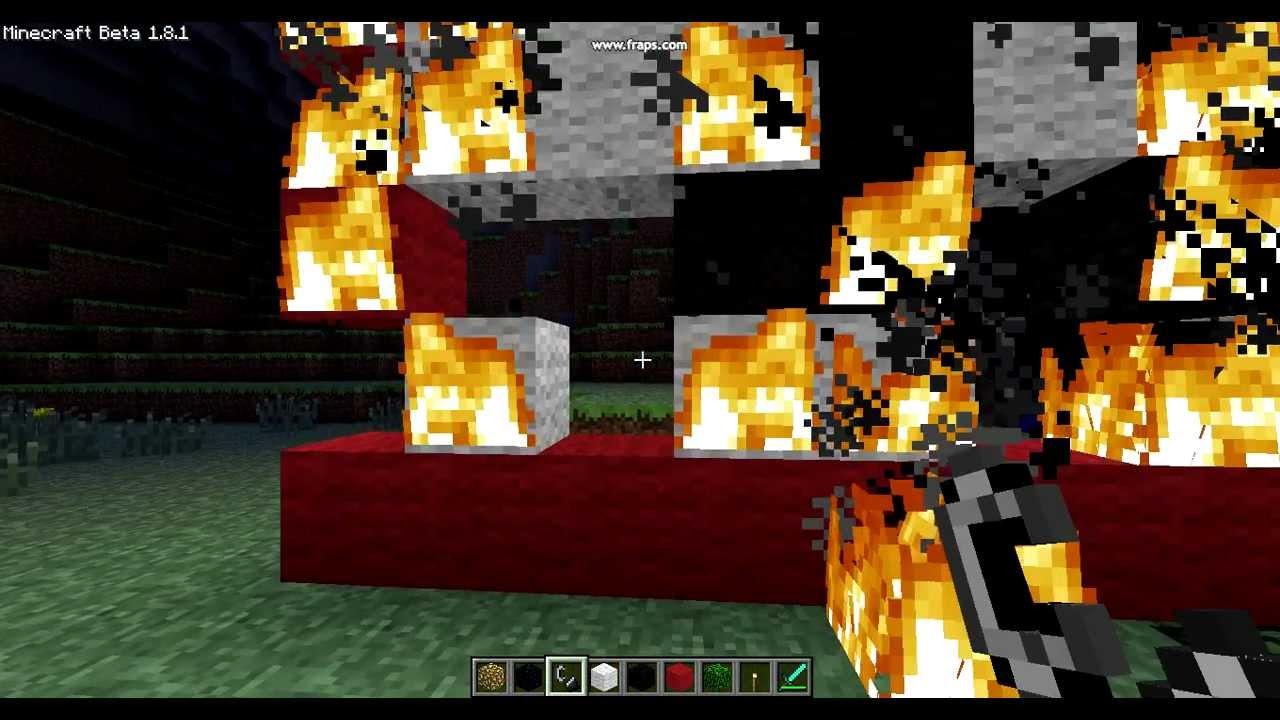 Burning the Nazi Flag Minecraft - YouTube