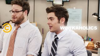The Workaholics Guys Find a New Cubicle Mate (feat. Seth Rogen and Zac Efron) - Uncensored thumbnail