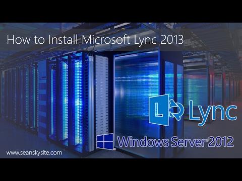 Microsoft Lync 2013 Installation Step by Step