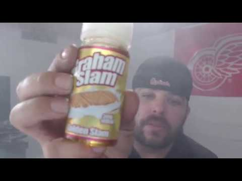 The Mamasan Vape Juice Graham Slam