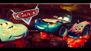 Disney Cars SDCC Mettalic Lightning Storm McQueen | 2008 Mattel (Special Edition) Diecast!