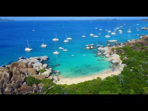 Devil's Bay, British Virgin Islands Shot with a DJI Mavic Pro in 4k