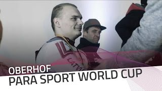 Back-to-back wins for Arturs Klots | IBSF Para Sport Official