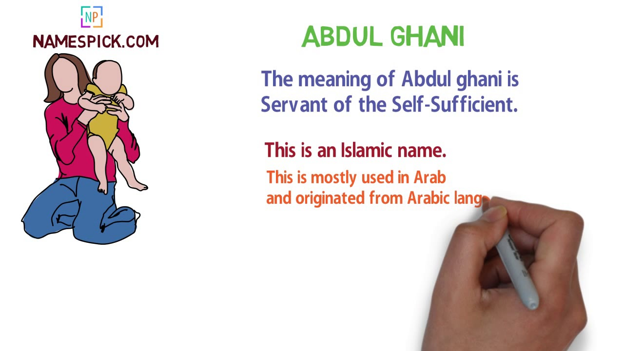 The Meaning Of Abdul Ghani