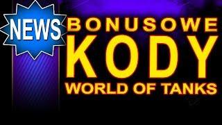 Kody bonusowe do World of Tanks