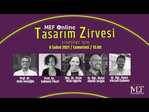 MEF Üniversitesi Online Tasarım Zirvesi/2021