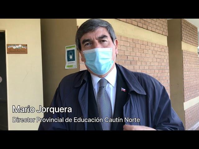 Visita Back to School Director Provincial de Educación SECREDUC