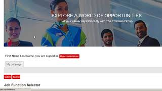 Emirates job application process online 2018
