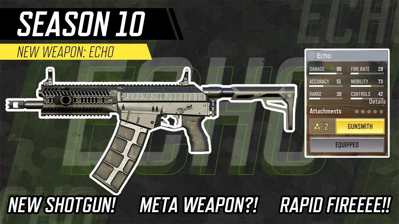 New Shotgun - Echo   Call of Duty®:Mobile - Garena