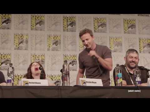 Breckin Meyer's Movie Career  Robot Chicken Panel  SDCC 2018