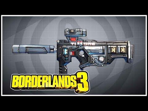 Long Musket Borderlands 3 Legendary Showcase