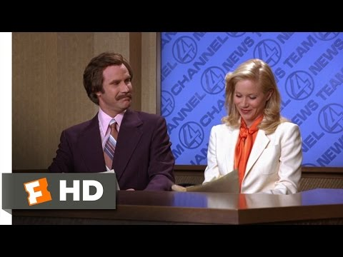 Anchorman: The Legend of Ron Burgundy - I'm Going to Punch You in the Ovary Scene (2/8) | Movieclips