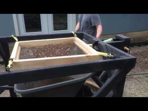 Diy Soil Sifter Screener Motorized Part 3 Of