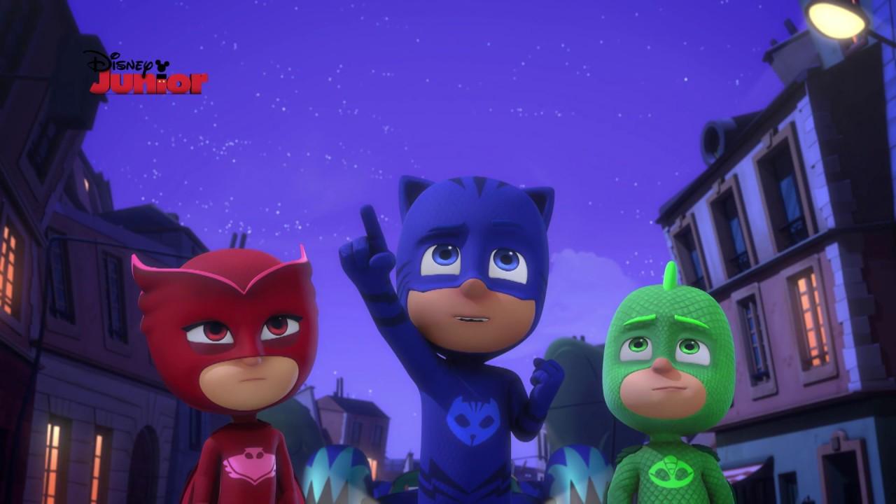 Pj Masks Super Pigiamini Il Ninja Della Notte E Le Palline