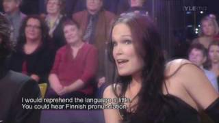 Tarja judges in choir competition