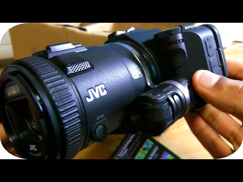 Best Youtube Camera (2014-2015) - JVC GC-PX100 Unboxing!