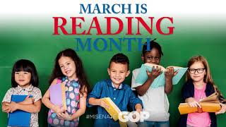 Sen. VanderWall celebrates National Reading Month |