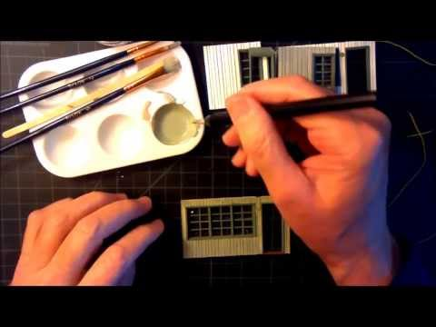 An O Scale Mid-Century Motel Scratch Build Part 3 – Windows And Siding