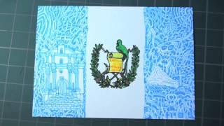 """""""The Guatemala"""" drawing by Daisuke Okamoto"""