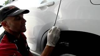 www.cartouchuppaint.com.au paint scratch repair- testimonial (PART 1)