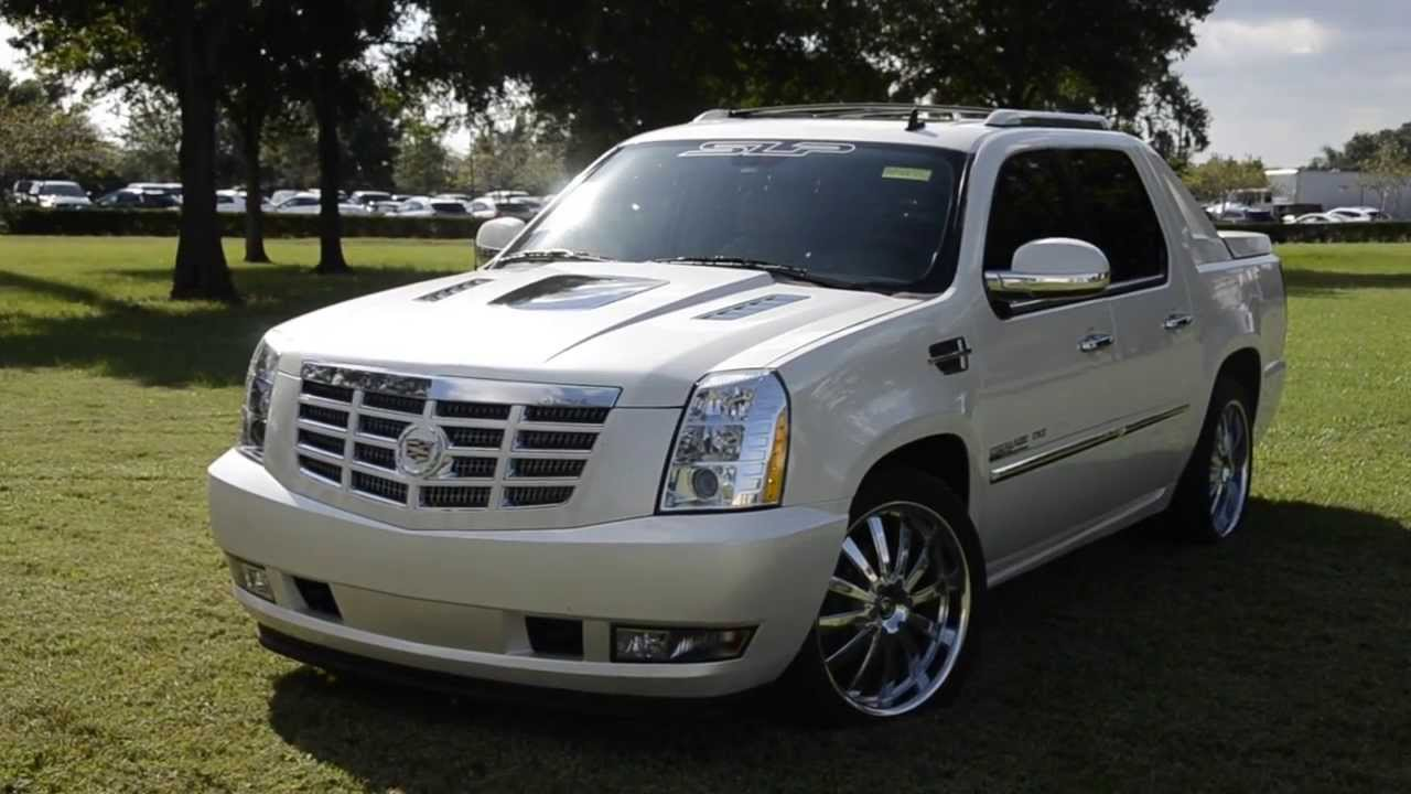 2013 Cadillac Escalade Ext Slp Package Aspire Autosports
