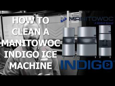 How to Clean Manitowoc Indigo Ice Machines