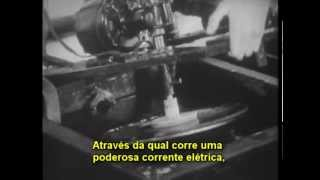 FABRICANDO DISCOS 78 RPM - RCA VICTOR 1942 - LEGENDADO