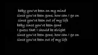 Tomas Nevergreen- since you've been gone (lyrics)