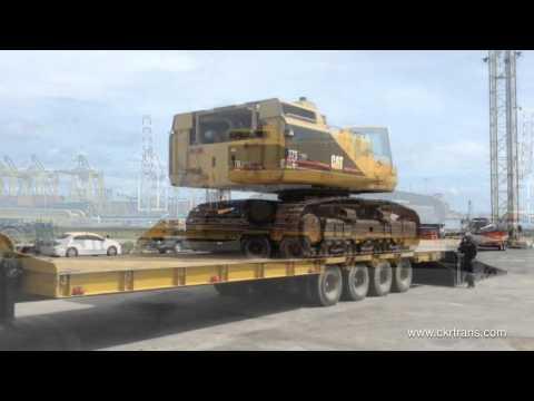 www.ckrtrans.com บริการขนส่งสินค้าด้วยรถบรรทุก เทรลเลอร์ หัวลาก หางพื้นเรียบ หางโลเบด โรเบท โรเบส