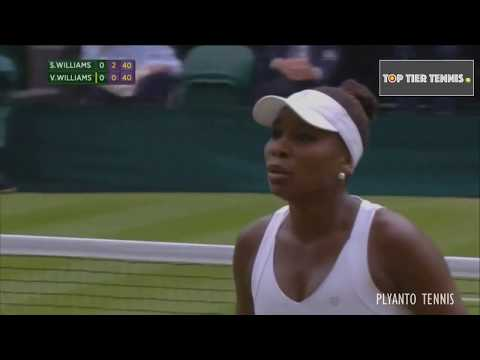 Serena Williams vs Venus Williams | Best Points Ever
