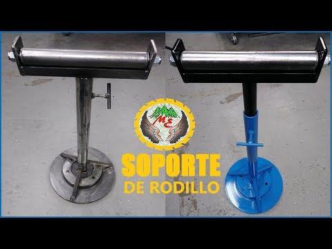 DIY SOPORTE DE RODILLO PARA (SIERRA SENSITIVA) SHOP SAW,  METAL,  MADERA O SEGUETA DE BANDA