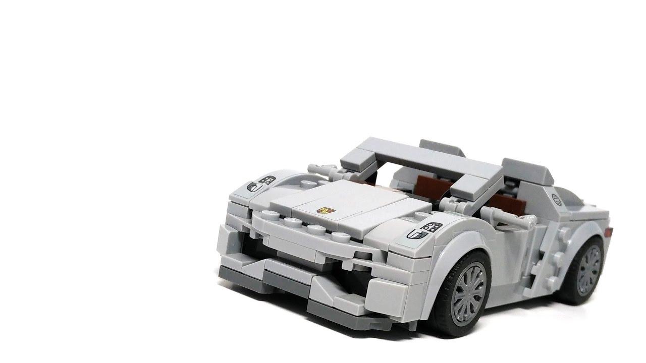 lego speed champions 75910 porsche 918 spyder moc youtube. Black Bedroom Furniture Sets. Home Design Ideas
