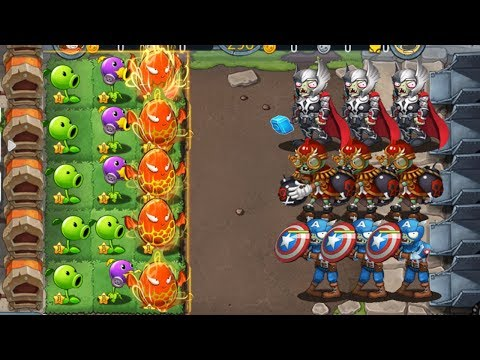 Plants vs Zombies 3 : Zombie Heroes Civil War vs Premium Plants