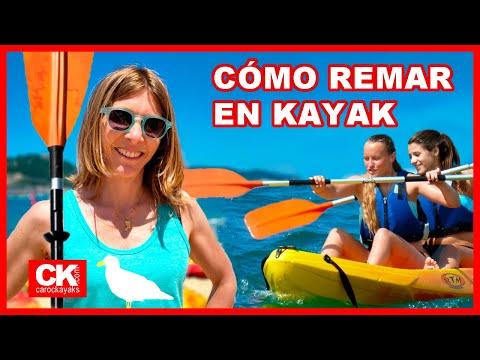 Cómo remar en Kayak