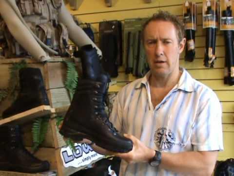 Lowa Combat Boot Youtube