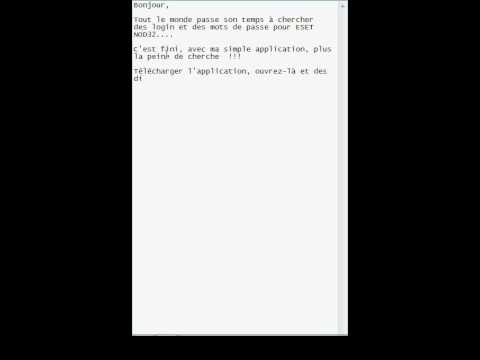 ESET NOD 32 + USERNAME AND PASSWORD FREE - YouTube