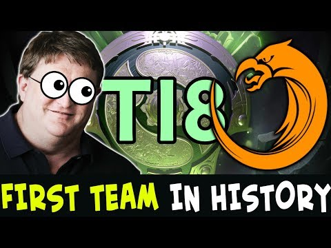 FIRST team in The International HISTORY with 2 Megacreeps Comebacks — TNC