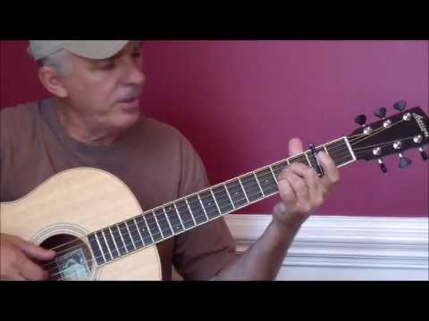 Carolina in my mind - James Taylor lesson (nice picking)