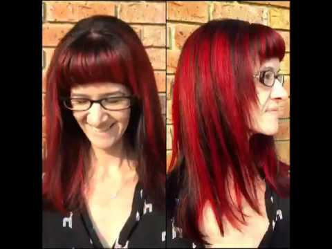 Deep plum with bright red highlights youtube deep plum with bright red highlights pmusecretfo Images