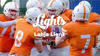 Northern Lights vs Lohja Lions promo 2016