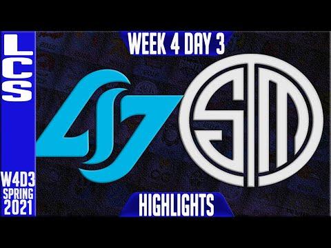 CLG vs TSM Highlights   LCS Spring 2021 W4D3   Counter Logic Gaming vs Team Solomid