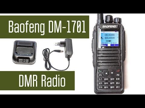 Baofeng DM-1701 - VHF+UHF Analog+Digital DMR, прямой ввод частоты и программирование без компьютера.