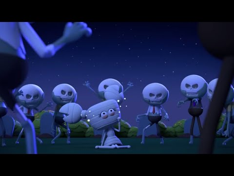 AstroLOLogy - Skeletons On The Attack - Chapter: Halloween Season - Cartoons for Kids - 동영상