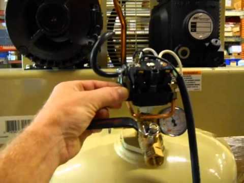hqdefault ingersoll rand 60 gallon vertical compressor 42831 youtube ingersoll rand compressor wiring diagram at n-0.co