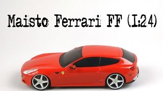 Розпакування Maisto Ferrari FF (1:24)