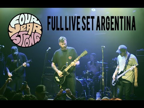 Four Year Strong · FULL LIVE SET @UNICLUB, ARGENTINA ·