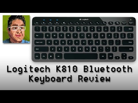 Logitech K810 Bluetooth Keyboard Review