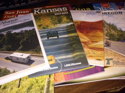 How to get Free US Road Maps - Car Emergency Kit